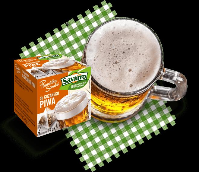 Piramidki Smaku z przyprawami do grzanego piwa